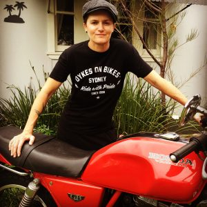 dykes on bikes sydney fair dair merchandise tshirt
