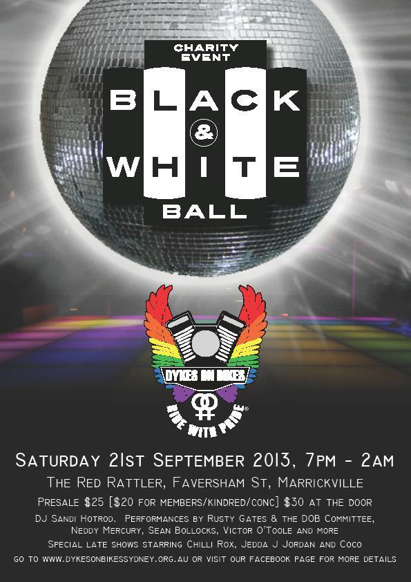 Disco Diva – Black & White Ball 2013