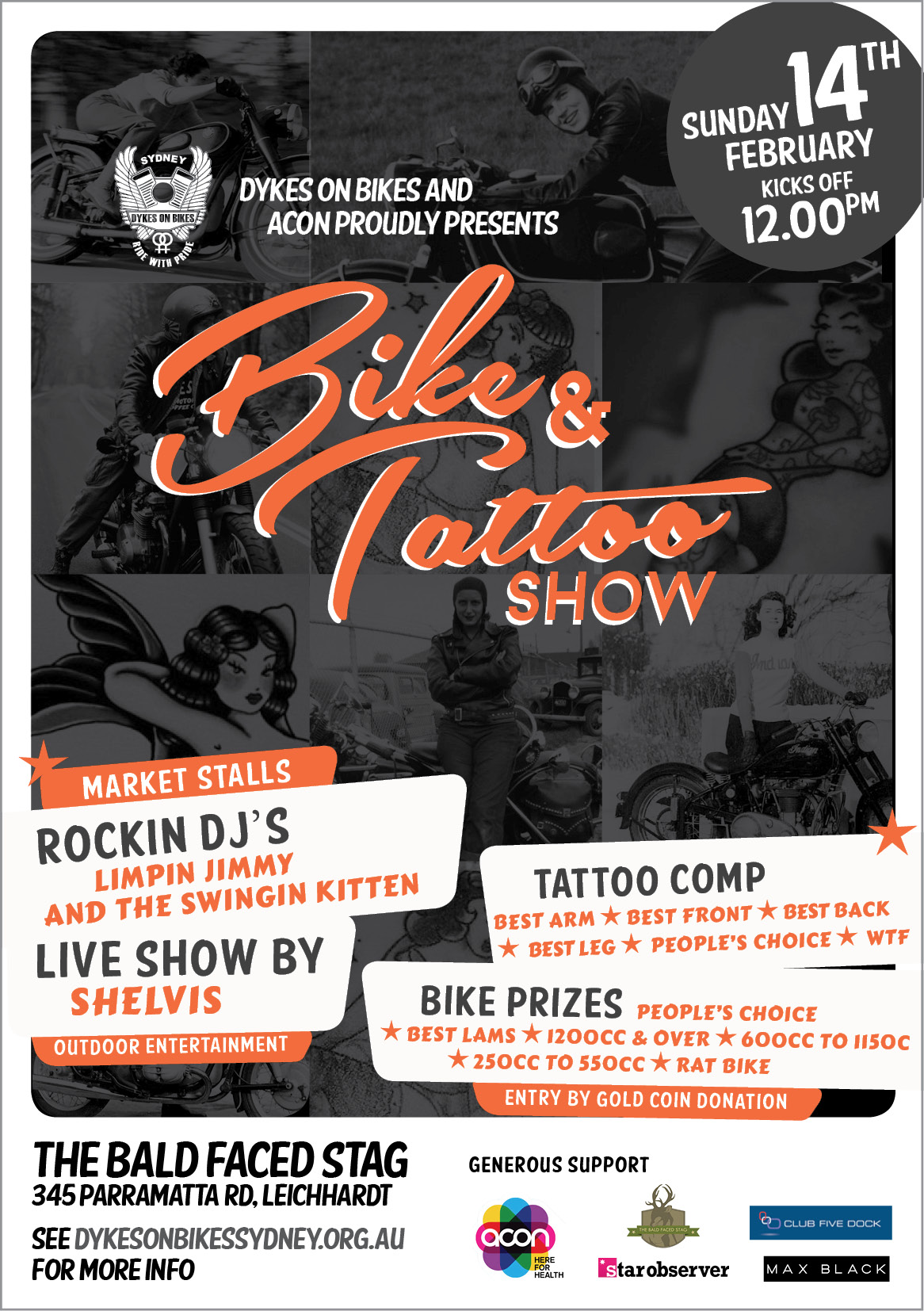 Announcing – the Bike and Tattoo Show for 2016!